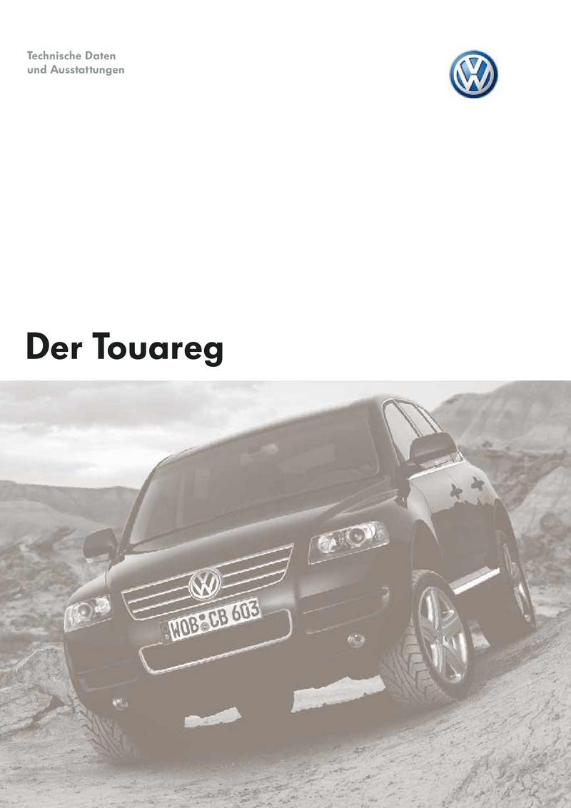 Vw Touareg Technische Daten Von Volkswagen Deutschland