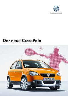 VW CrossPolo Katalog 2006