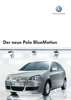 VW Polo BlueMotion Katalog 2006