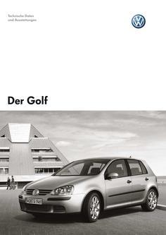 VW Golf Technische Daten 2006