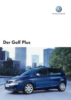 VW Golf Plus Prospekt 2007