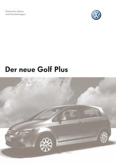 VW Golf Plus Technische Daten