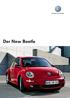 VW New Beetle Prospekt 2006