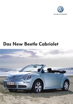 VW New Beetle Cabriolet Prospekt 2006