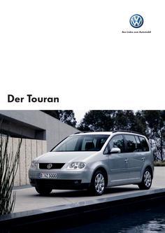 VW Touran Prospekt 2006