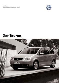 VW Touran Preisliste 2006