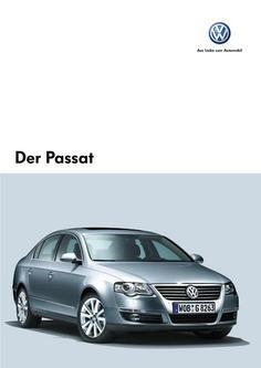 VW Passat Prospekt 2006