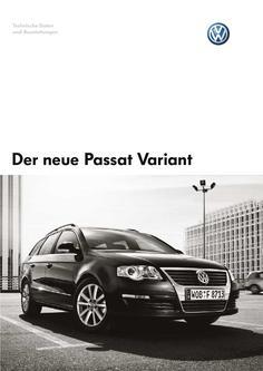 VW Passat Variant Technische Daten
