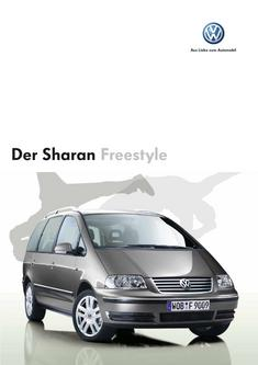 VW Sharan Freestyle Prospekt 2006