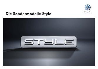 Style Sondermodelle 2011