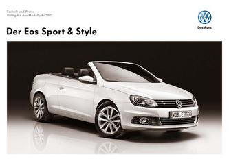Eos Sport & Style 2011