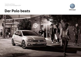 Polo Beats Preisliste Aug 2018