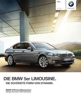BMW 5er Limousine 2012
