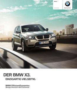 carbonschwarz in bmw x3 2012 von bmw personenwagen deutschland. Black Bedroom Furniture Sets. Home Design Ideas
