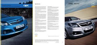 Opel Vectra Hauptkatalog 2006