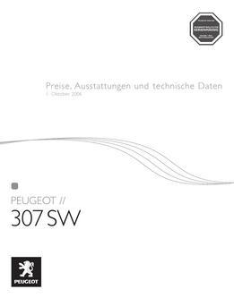 peugeot 307 sw technische daten in Peugeot 307 SW ...