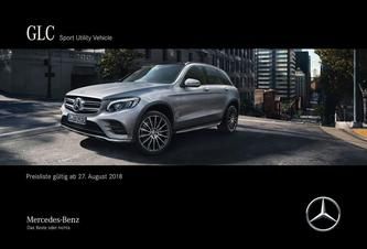GLC Sport Utility Vehicle August 2018