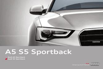 Audi A5 Sportback & Audi S5 Sportback 2012