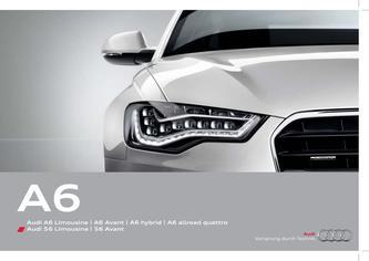 Audi A6 Limousine | A6 Avant | A6 hybrid | A6 allroad quattro 2014