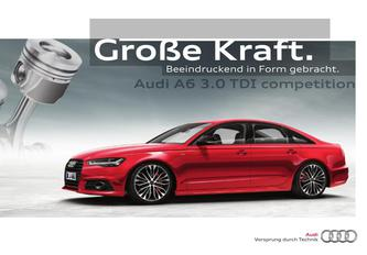 Audi A6 3.0 TDI competition 2015