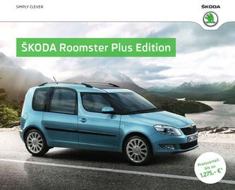 Skoda Roomster Plus Edition 2013