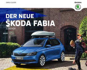 skoda fabia zubeh r in fabia zubeh r 2015 von skoda deutschland. Black Bedroom Furniture Sets. Home Design Ideas