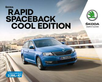 Rapid Spaceback Cool Edition 09/2018