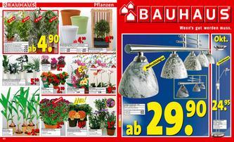 Bauhaus Werbebeilage 28.10.2006