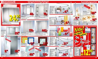 spiegelschrank rot orange in Bauhaus Spiegelschränke, Spiegel und
